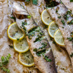 Oven Baked Sea Bass Pin