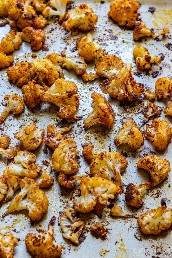 Roasted Cauliflower Fresh from Oven