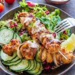 Grilled Chicken Kabobs Pin