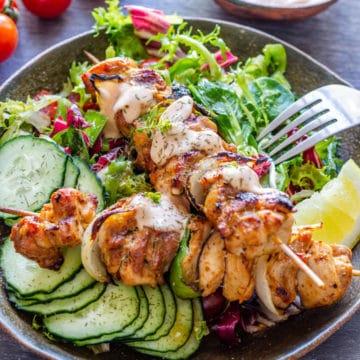 Best Grilled Chicken Kabobs Recipe