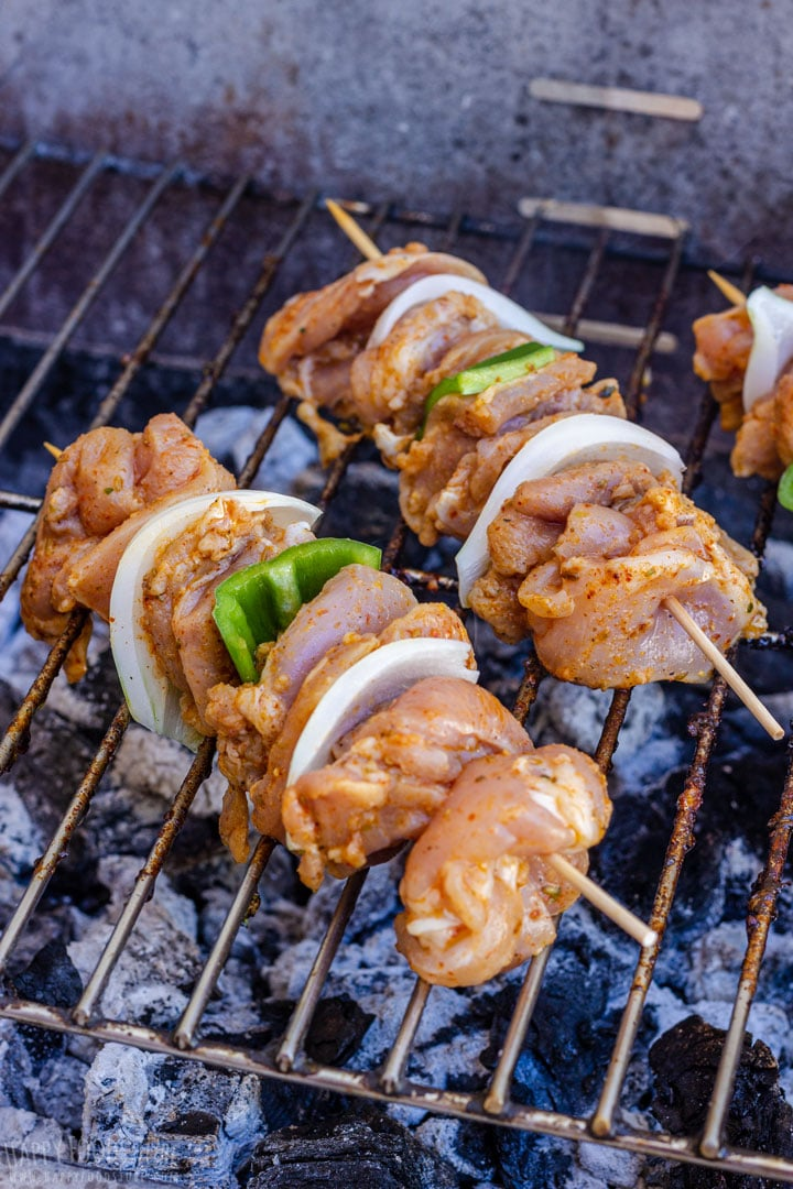 How to grill Chicken Kabobs