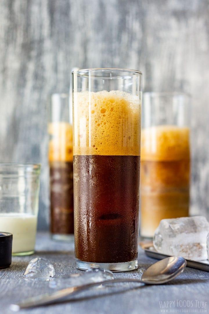 Ice cold Greek frappe