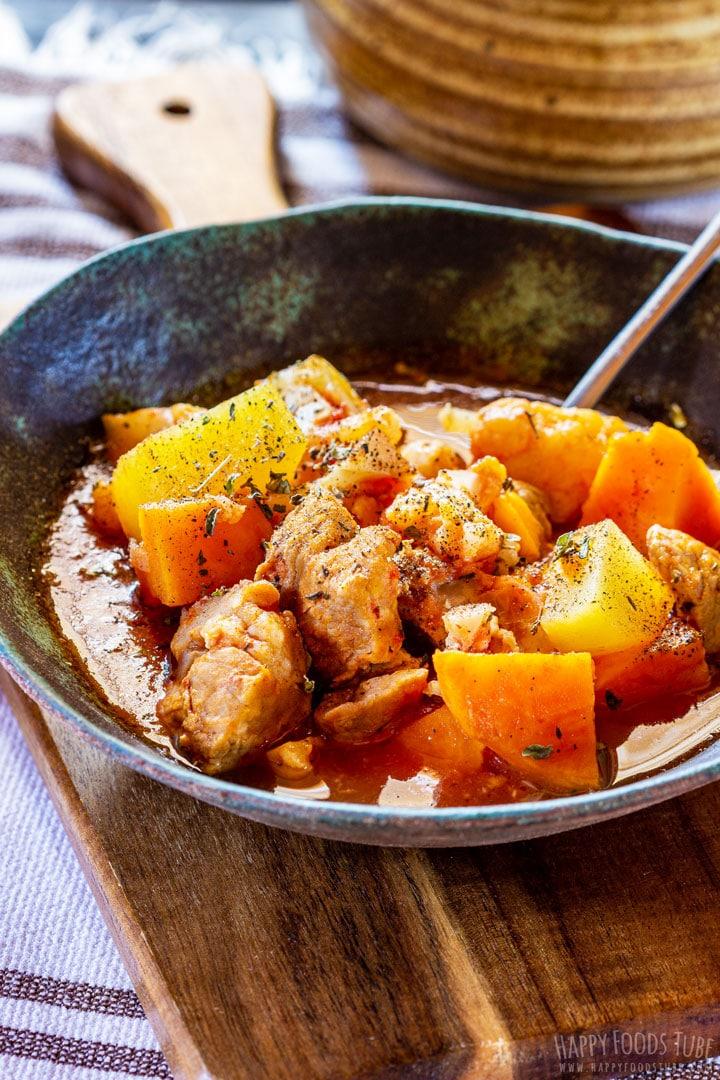 Comforting instant pot pork stew