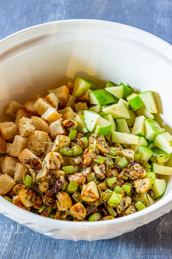 Uncooked stuffing mix