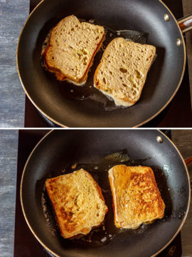 How to make brioche french toast step 3