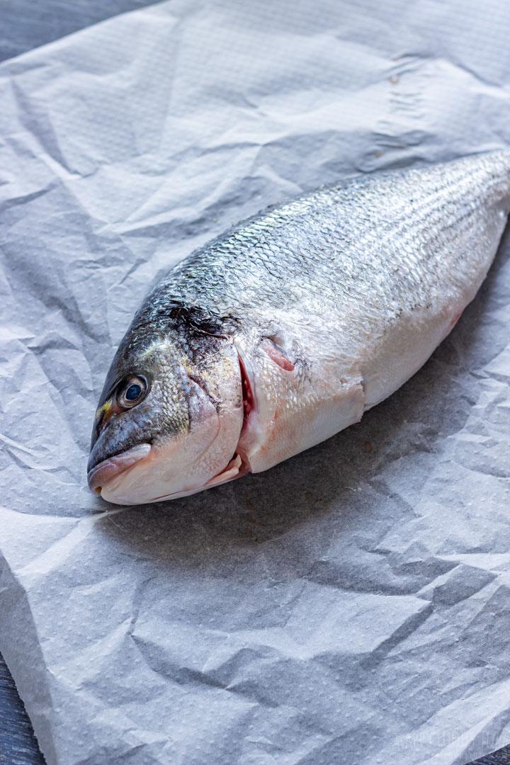 Fresh fish for making stock