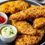 Homemade crispy chicken tenders