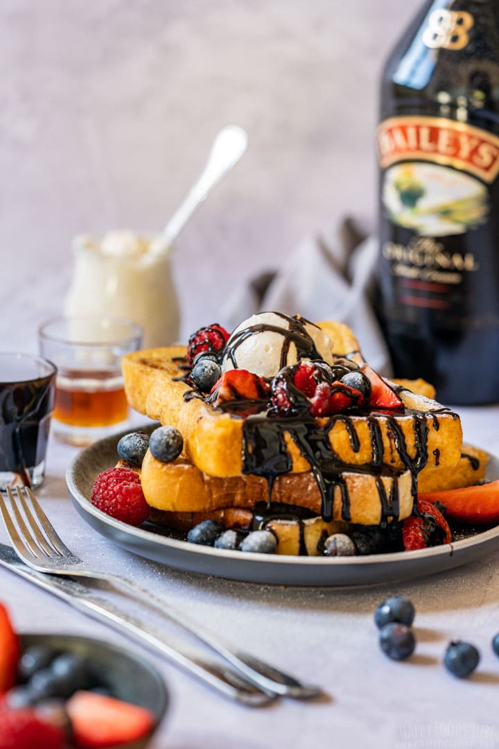 French toast with baileys
