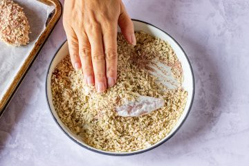 How to make chicken tenders in air fryer step 2