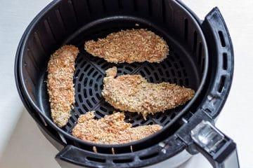 How to make chicken tenders in air fryer step 3