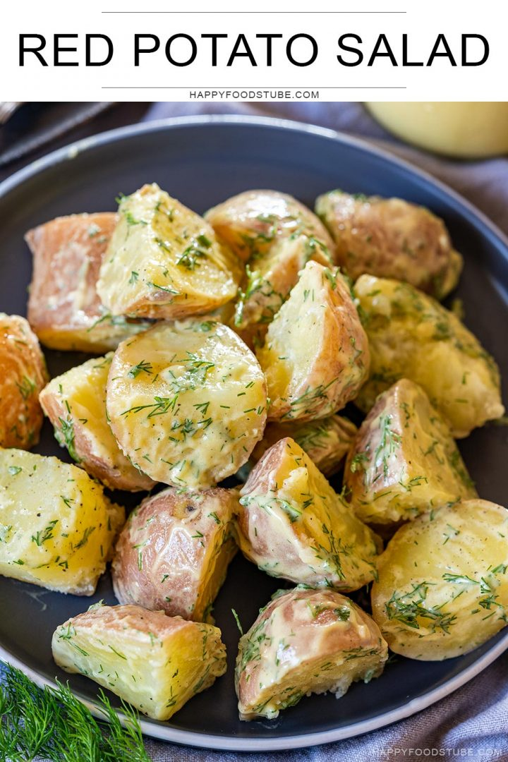 Red potato salad with dill