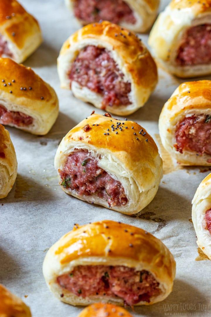 Easy sausage rolls recipe