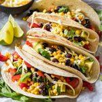 Black bean tacos recipe