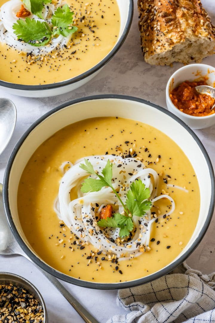 Instant Pot Creamy Split Pea Soup